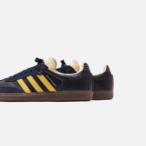 adidas Consortium Wales Bonner Samba - Collegiate Navy / Cream White / Yellow