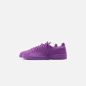 adidas x Pharrell Williams Superstar Primeknit - Active Purple