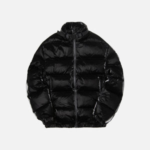 1017 Alyx 9SM Puffer Coat w/ Nylon Buckle - Black Image 1