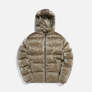 1017 Alyx 9SM Nightrider Puffer Jacket - Silver Green Image 1