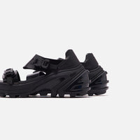 1017 Alyx 9SM Studio Vibram Sandals - Black Thumbnail 1