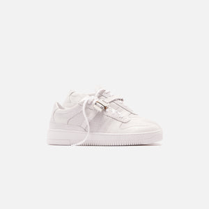 1017 ALYX 9SM Buckle Low Trainer - White