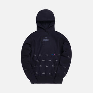 Kith x Advisory Board Crystals Holograph Hoodie - Black
