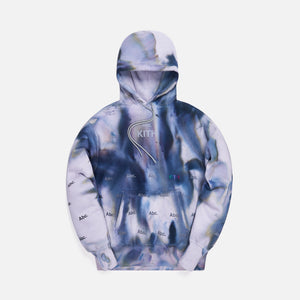 Kith x Advisory Board Crystals Holograph Hoodie - Storm Dye