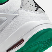 Nike WMNS Air Jordan 4 Retro - White / Black / University Red Thumbnail 1