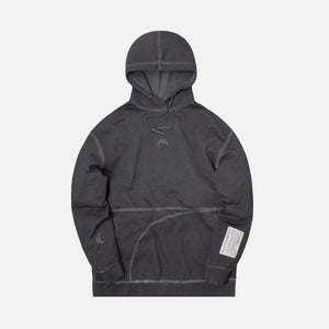 A Cold Wall Classic Flat Overlock Hoodie - Grey