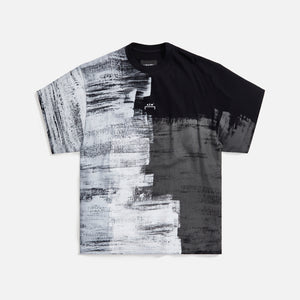 A Cold Wall Brush Stroke Tee - Black / Grey