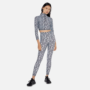 Adam Selman French Cut Legging - BW Python