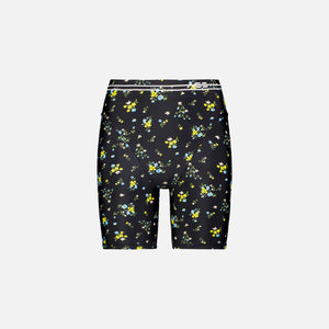 Adam Selman French Cut Biker Short - Black / Multi