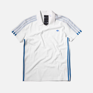 adidas Originals x Alexander Wang Velour Polo - White