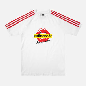 adidas by Fiorucci Kiss Tee - White / Red