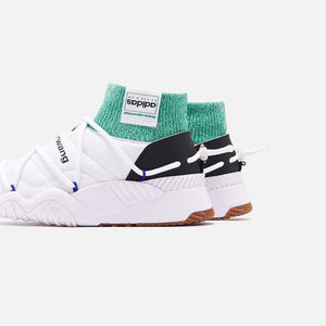 adidas by Alexander Wang Puff Trainers - White / Core Black / Prime Ink Image 5