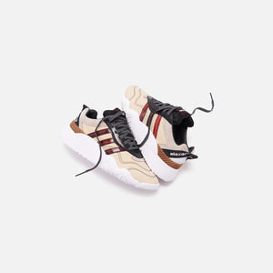 adidas by Alexander Wang Turnout Trainer - Core Black / Light Brown Image 2