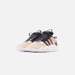 adidas by Alexander Wang Turnout Trainer - Core Black / Light Brown Image 3