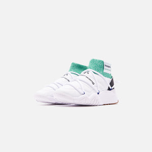 adidas by Alexander Wang Puff Trainers - White / Core Black / Prime Ink Image 3