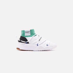 adidas by Alexander Wang Puff Trainers - White / Core Black / Prime Ink Image 1