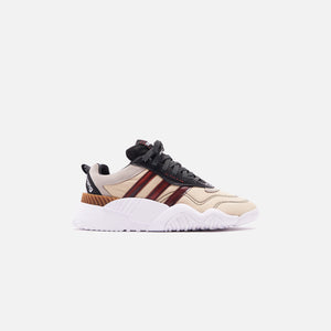adidas by Alexander Wang Turnout Trainer - Core Black / Light Brown Image 1