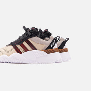 adidas by Alexander Wang Turnout Trainer - Core Black / Light Brown Image 5