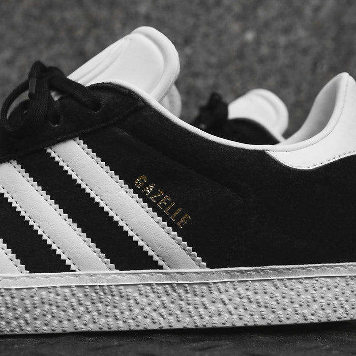 adidas Originals Junior Gazelle - Black / White