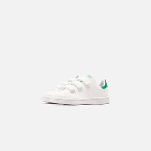adidas Kids Stan Smith CF C - Footwear White / Green