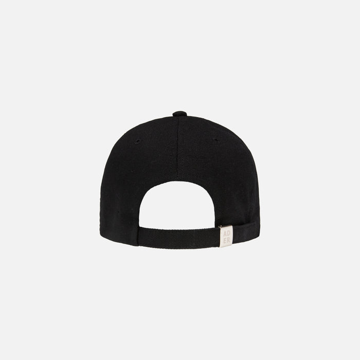 Ader Error Wide Brim Cap with Deep Girt - Black
