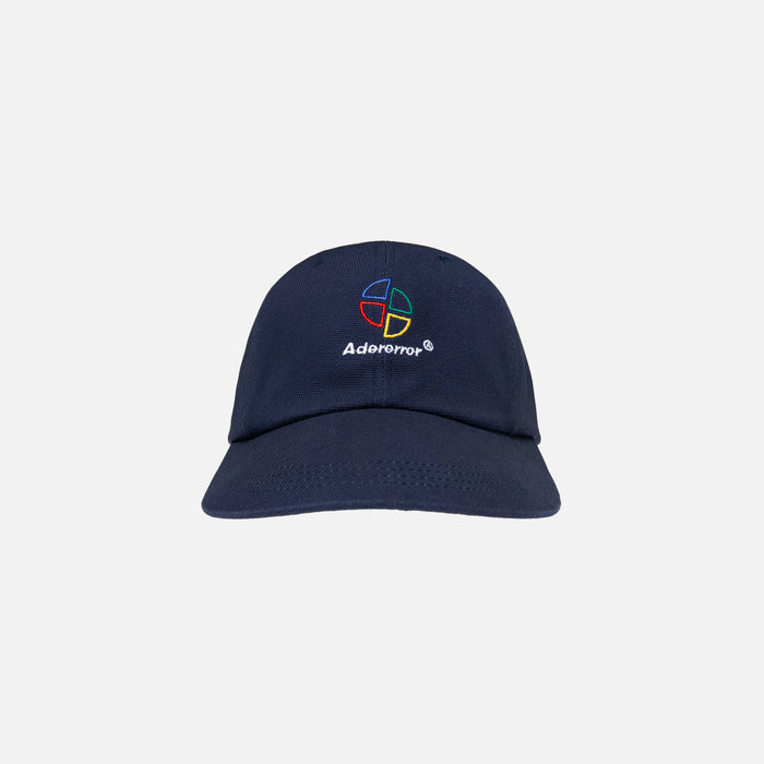 Ader Error Wide Brim Cap with Deep Girt - Navy