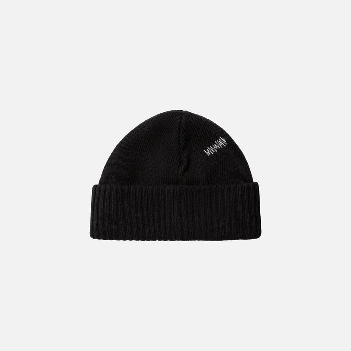 Ader Error Basic Knit Beanie - Black