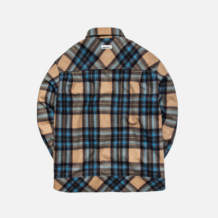 Ader Error Anorak Styled Check Shirt - Multi