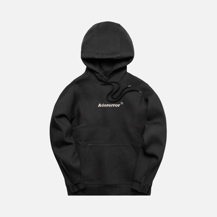 Ader Error Regular Fit Hoodie - Charcoal