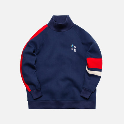 Ader Error Oversized Sweatshirt Knit - Navy