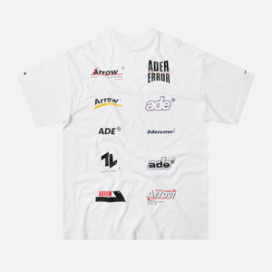 Ader Error All-Over Logo Tee - White