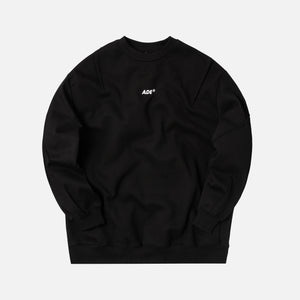 Ader Error Logo Crewneck - Black
