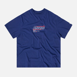 Ader Error Arrow Logo Tee - Navy
