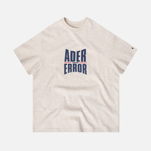 Ader Error Big Logo Tee - Grey