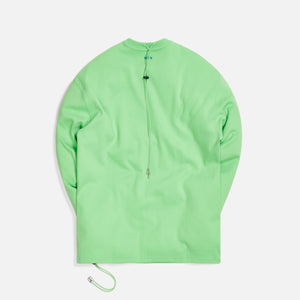 Ader Error Oversized Drawstring L/S - Green