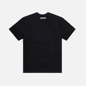 Ader Error Print at Front Tee - Black