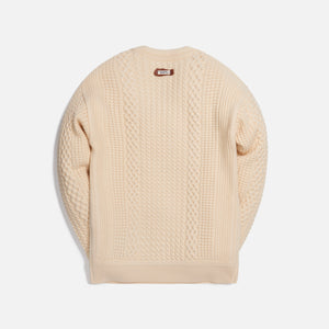 Ader Error Regular Fit Knit - Ivory