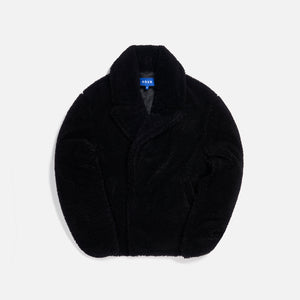 Ader Error Basic Design Pea Coat - Black