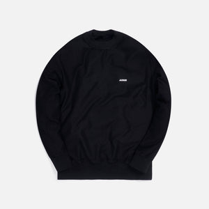 Ader Error Regular Fit L/S Tee - Black