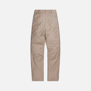 Ader Error Half-Oversized Fit Slacks - Ivory Image 1