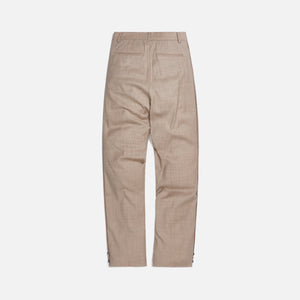 Ader Error Half-Oversized Fit Slacks - Ivory