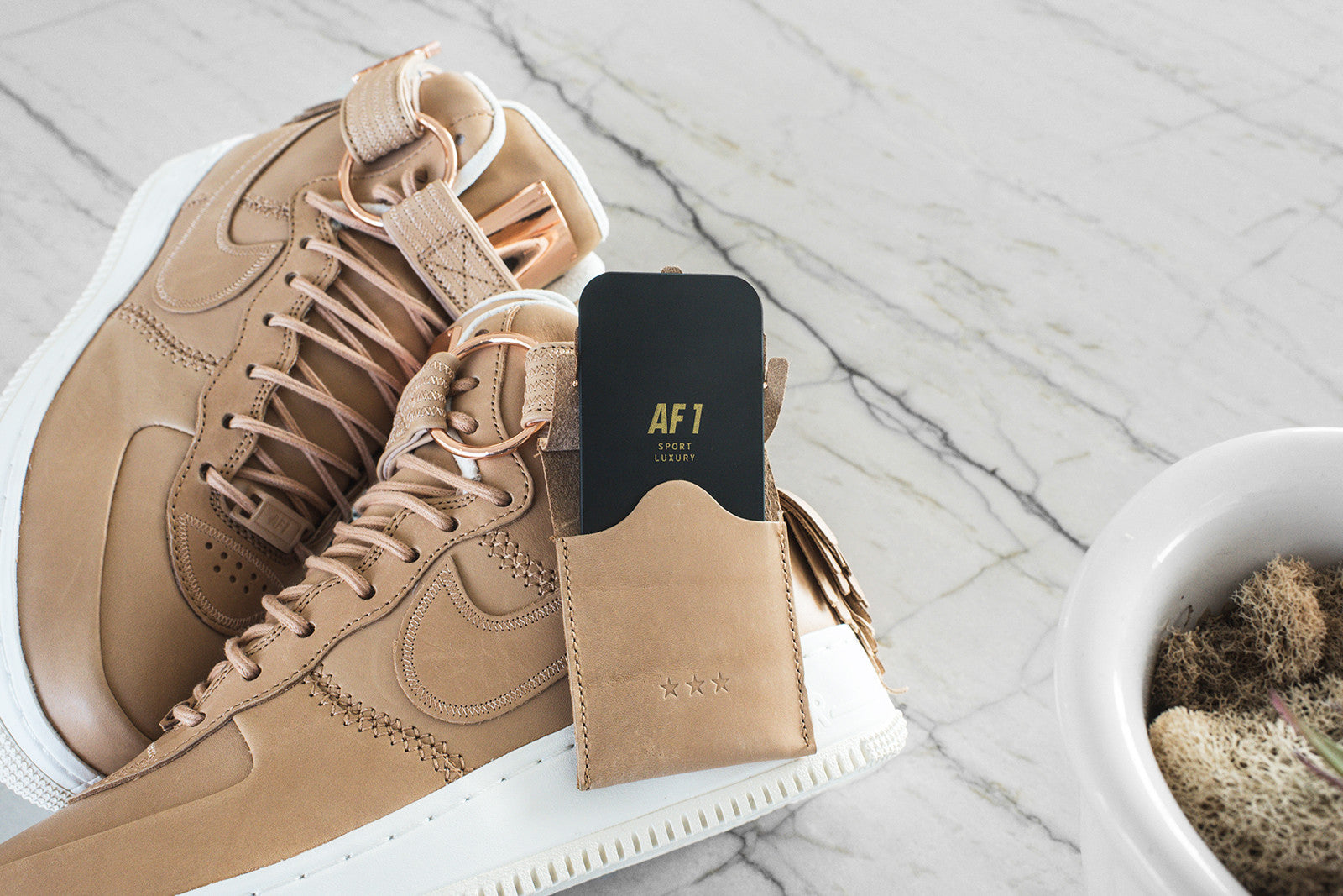Nike Air Force 1 High SL - Vachetta Tan / Sail