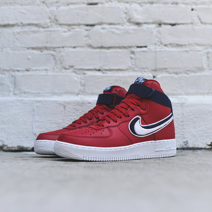 Nike Air Force 1 High LV8 - Red / Blue / White