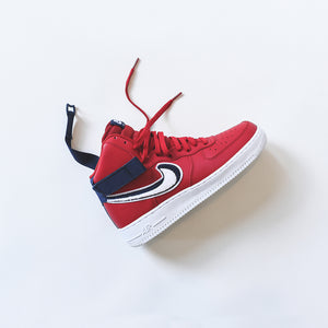 Nike Air Force 1 High Lv8 Red Blue White Kith