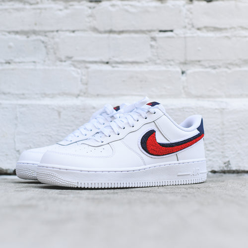 Nike Air Force 1 LV8 - White / Red / Blue