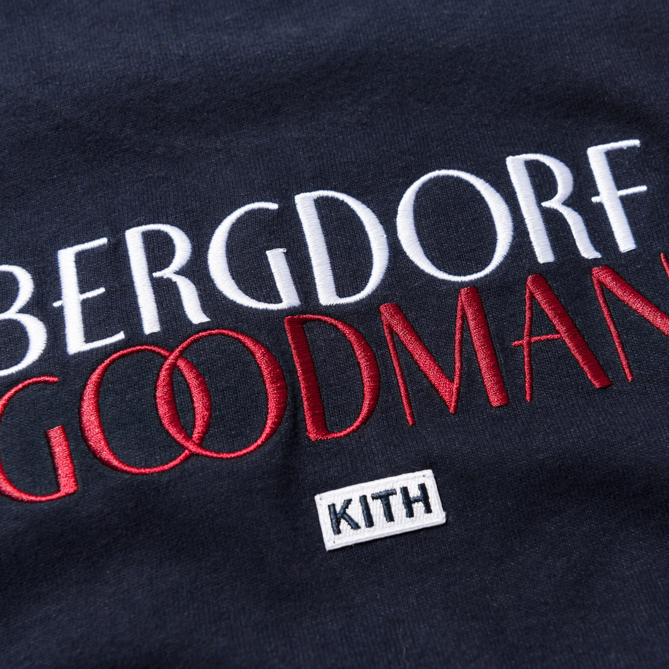 Kith x Bergdorf Goodman Wing Tee - Eclipse Navy