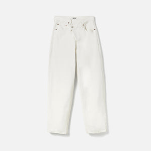 Agolde Criss Cross Jean - Paste White