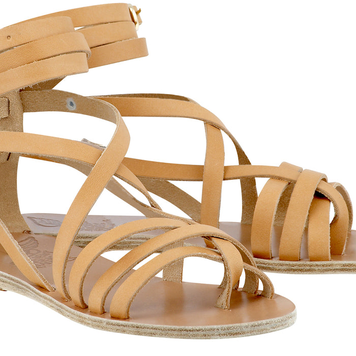 Ancient Greek Natural Satira Sandal