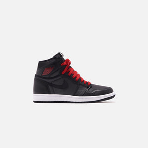 Nike Air Jordan 1 Retro High OG - Metallic Silver / Gym Red / White / Black