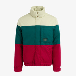 Aimé Leon Dore x Woolrich Colorblock Down Jacket - Ripe Green